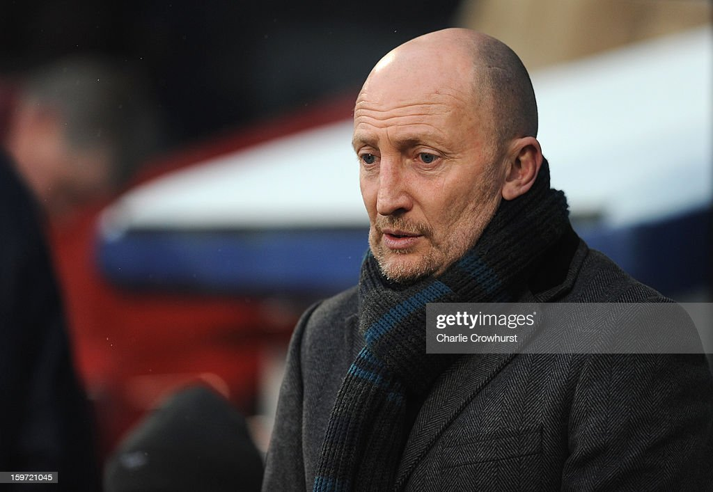 Crystal Palace manager <a gi-track='captionPersonalityLinkClicked' href=/galleries/search?phrase=Ian+Holloway&family=editorial&specificpeople=235580 ng-click='$event.stopPropagation()'>Ian Holloway</a> looks on during the npower Championship match between Crystal Palace and Bolton at Selhurst Park on January 19, 2013 in London England.