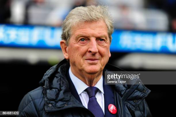 Crystal Palace Manager Roy Hodgson during the Premier League match between Newcastle United and Crystal Palace at StJames' Park on October 21 in...