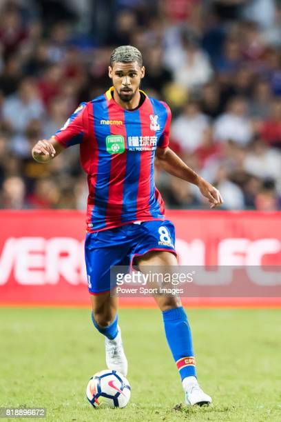 Crystal Palace midfielder Ruben LoftusCheek in action during the Premier League Asia Trophy match between Liverpool FC and Crystal Palace FC at Hong...