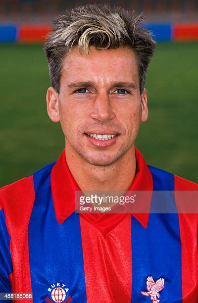 Crystal Palace player Alan Pardew pictured before the 1988/89 season at Selhurst Park London
