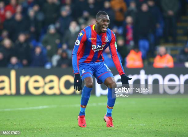 Crystal Palace's Christian Benteke during Premier League match between Crystal Palace and AFC Bournemouth at Selhurst Park Stadium London England 09...