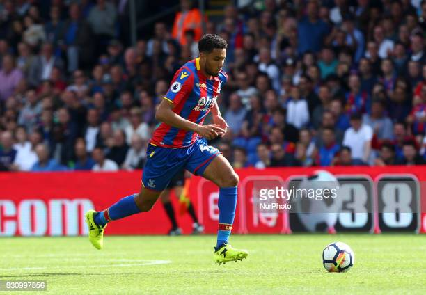 Crystal Palace's Jairo Riedewald during Premier League match between Crystal Palace and Huddersfield Town at Selhurst Park Stadium London England on...