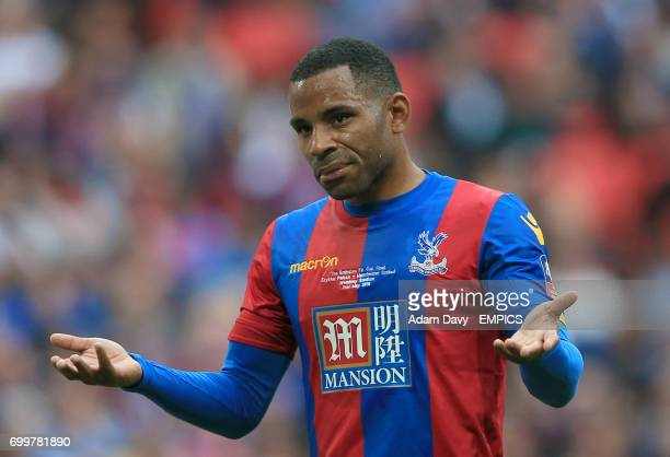 Crystal Palace's Jason Puncheon shrugs his shoulders