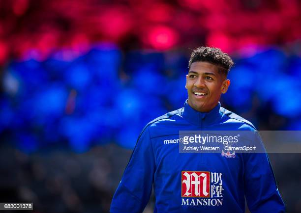 Crystal Palace's Patrick van Aanholt before the Premier League match between Crystal Palace and Hull City at Selhurst Park on May 14 2017 in London...