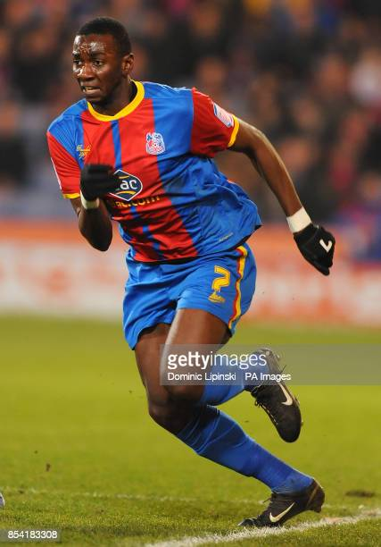 Crystal Palace's Yannick Bolasie during the npower Championship match at the Selhurst Park London