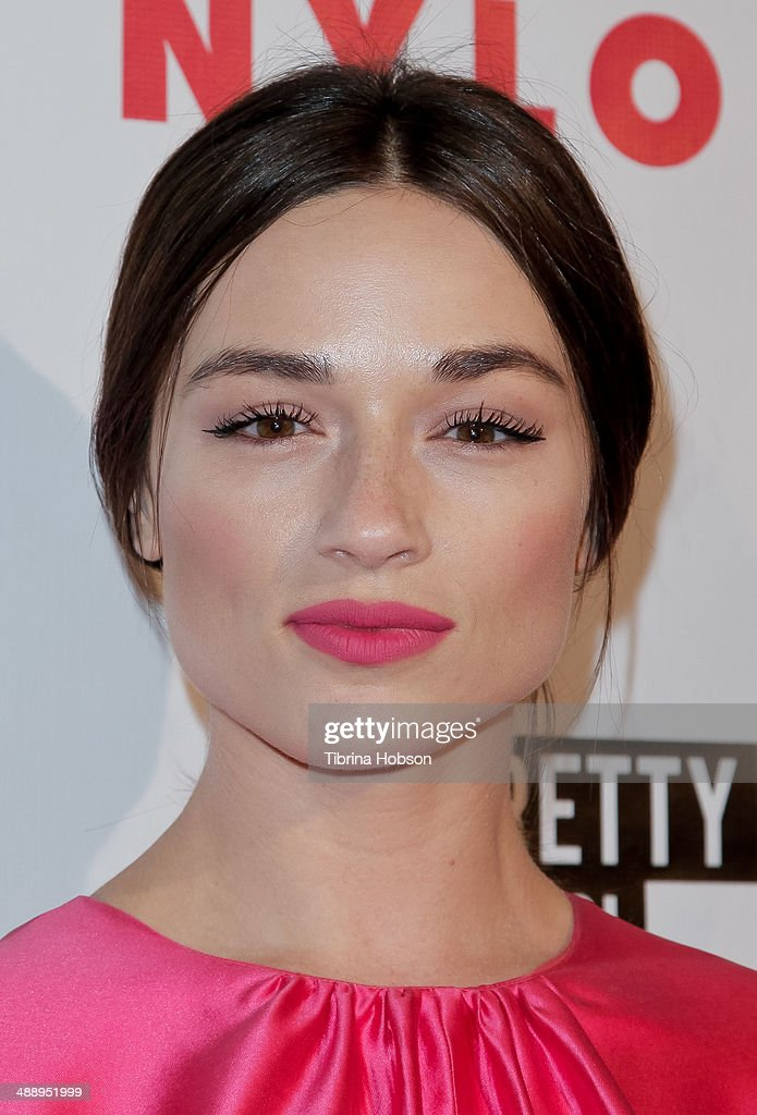 <a gi-track='captionPersonalityLinkClicked' href=/galleries/search?phrase=Crystal+Reed&family=editorial&specificpeople=7115314 ng-click='$event.stopPropagation()'>Crystal Reed</a> attends the Nylon Magazine May young Hollywood issue party at Tropicana Bar at The Hollywood Rooselvelt Hotel on May 8, 2014 in Hollywood, California.