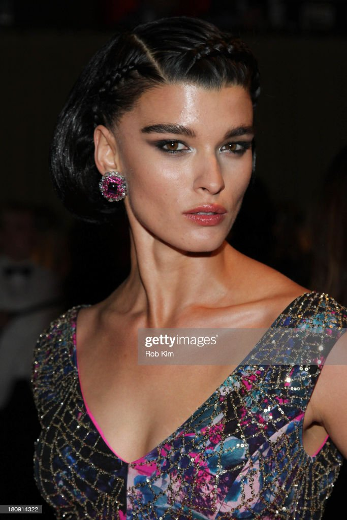 Crystal Renn attends New Yorkers For Children Presents 14th Annual Fall Gala benefiting youth in foster care at Cipriani 42nd Street on September 17, 2013 in New York City.