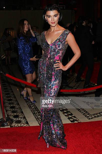 Crystal Renn attends New Yorkers For Children Presents 14th Annual Fall Gala benefiting youth in foster care at Cipriani 42nd Street on September 17...