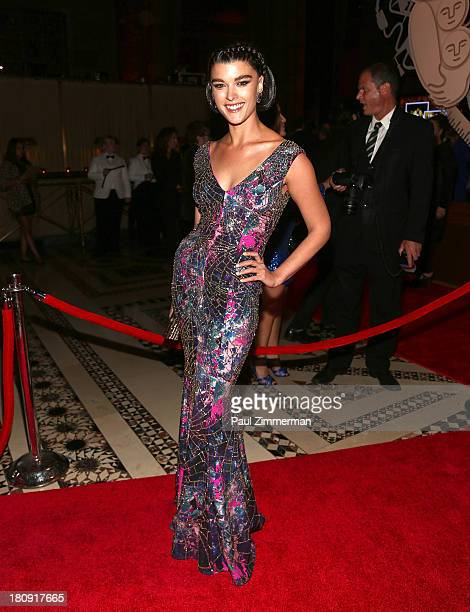 Crystal Renn attends the 14th Annual New Yorkers For Children Fall Gala at Cipriani 42nd Street on September 17 2013 in New York City