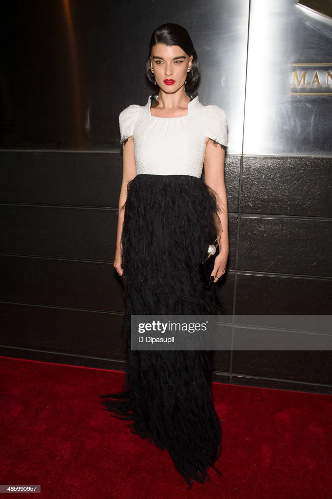 <a gi-track='captionPersonalityLinkClicked' href=/galleries/search?phrase=Crystal+Renn&family=editorial&specificpeople=2216376 ng-click='$event.stopPropagation()'>Crystal Renn</a> attends the New Yorkers For Children's 11th Anniversary A Fool's Fete Spring Dance at the Mandarin Oriental Hotel on April 21, 2014 in New York City.