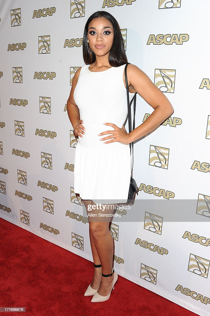 Crystal Smith arrives at ASCAP's 26th Annual Rhythm & Soul Music Awards at The Beverly Hilton Hotel on June 27, 2013 in Beverly Hills, California.
