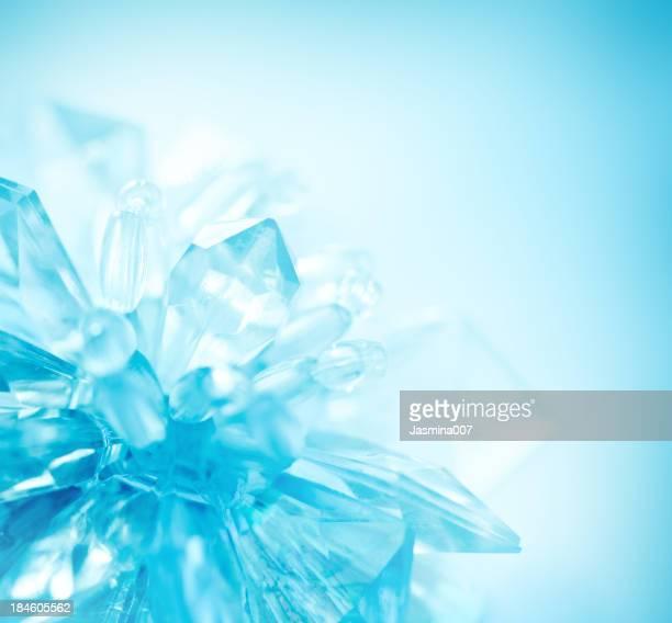 Kristall-Schneeflocke