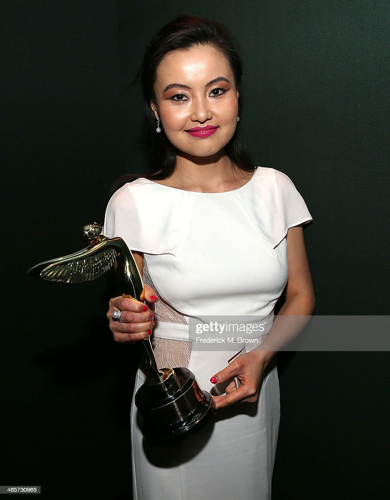 Crystine Zhang is being honored during the 2014 International 3D and Advanced Imaging Society's Creative Arts Awards at the Steven J. Ross Theatre, Warner Bros. Studios on January 28, 2014 in Burbank, California.