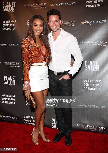 Crystle Stewart and Max Sebrechts...