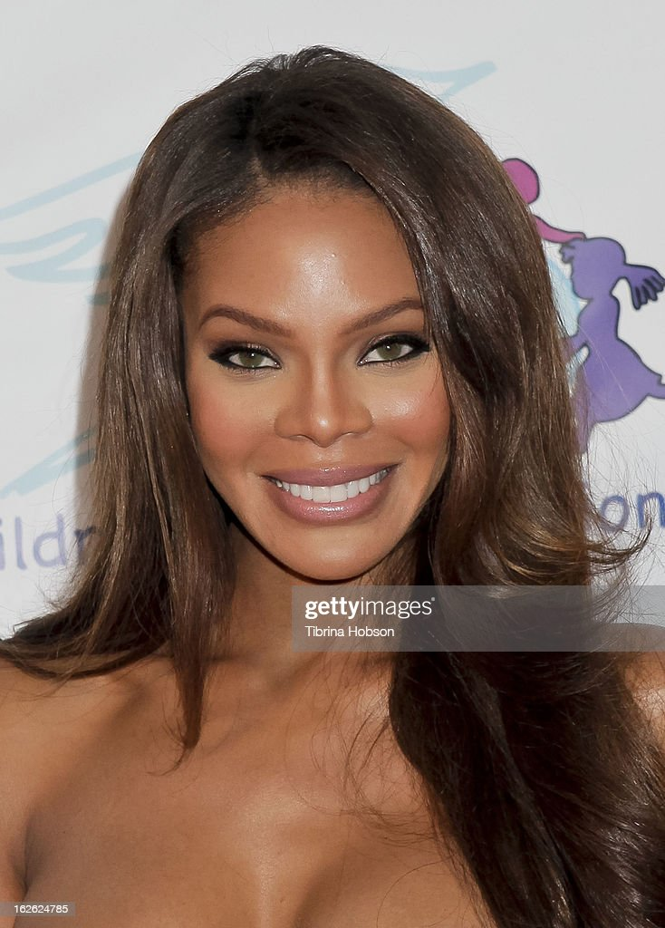 Crystle Stewart attends the 14th annual Children Uniting Nations awards on February 24 2013 in Beverly Hills California
