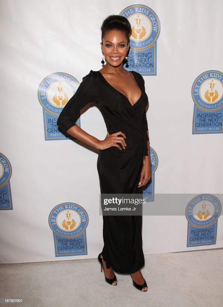 Crystle Stewart attends the Let The Kids Grow 2012 Inaugral Holiday Gala held at the Beverly Wilshire Four Seasons Hotel on December 1, 2012 in Beverly Hills, California.