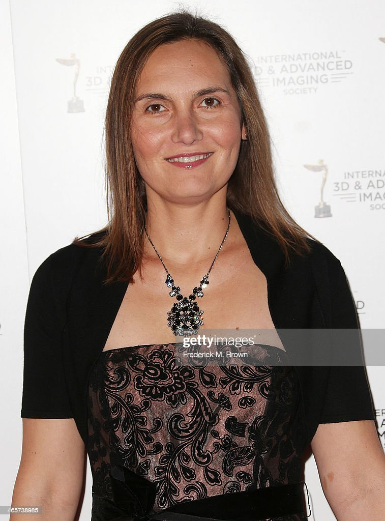 Csilla Andersen attends the 2014 International 3D and Advanced Imaging Society's Creative Arts Awards at the Steven J. Ross Theatre, Warner Bros. Studios on January 28, 2014 in Burbank, California.
