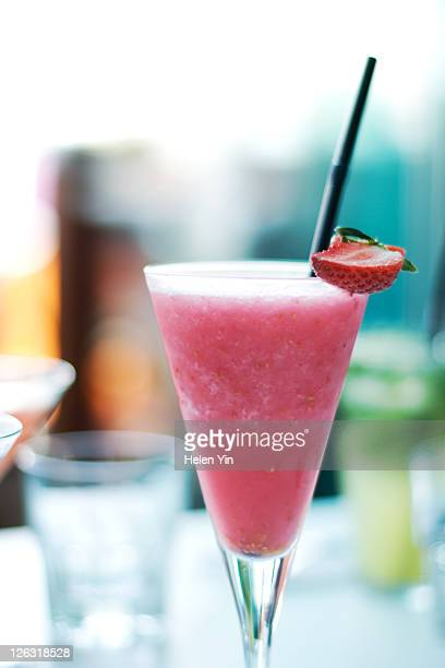 Ctrawberry cocktail
