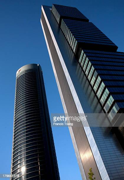 Cuatro Torres in Madrid Repsol Tower by Norman Foster June 6 2013