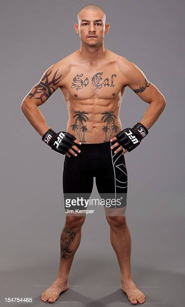Cub Swanson poses for a portrait on November 9 2011 in Los Angeles California