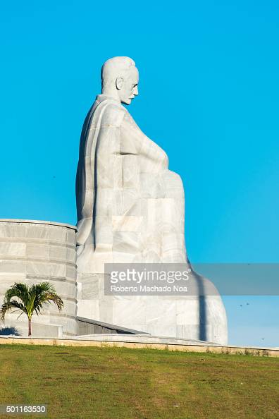 Cuba attractions and landmarks Jose Marti statue at Revolution Square Havana Cuba Jose Marti is a Cuban national hero and is referred to as the...
