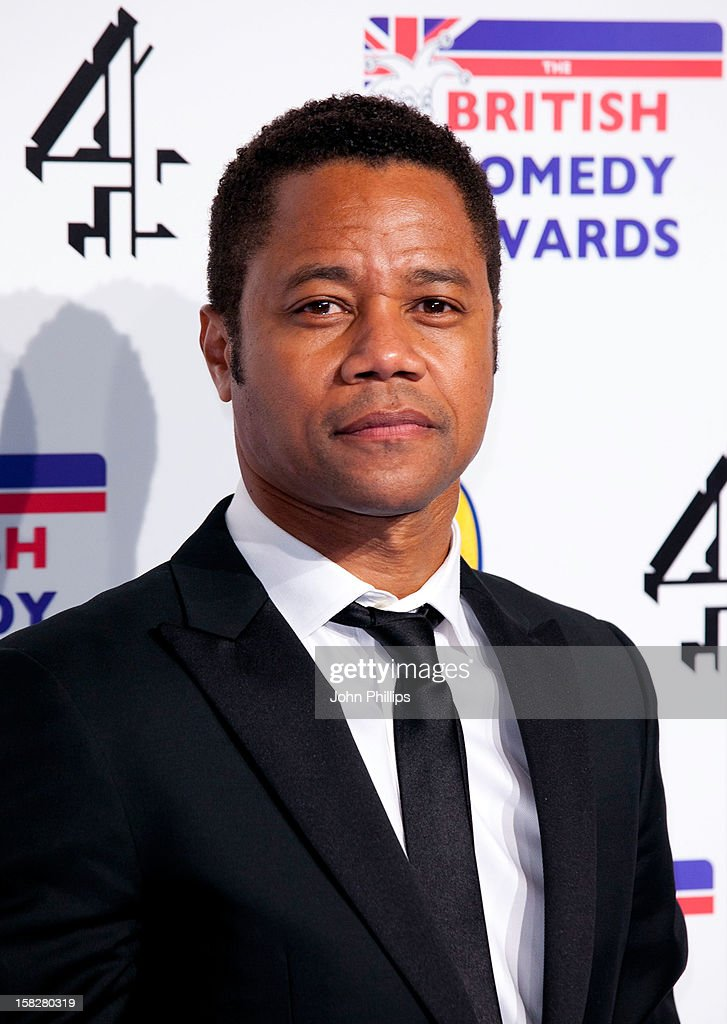 Cuba Gooding Jnr attends the British Comedy Awards at Fountain Studios on December 12, 2012 in London, England.