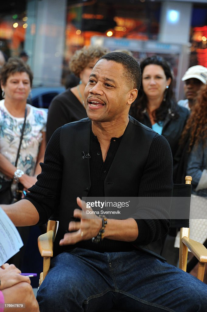 AMERICA - Cuba Gooding, Jr. appears on GOOD MORNING AMERICA, 9/14/13, airing on the ABC Television Network. CUBA