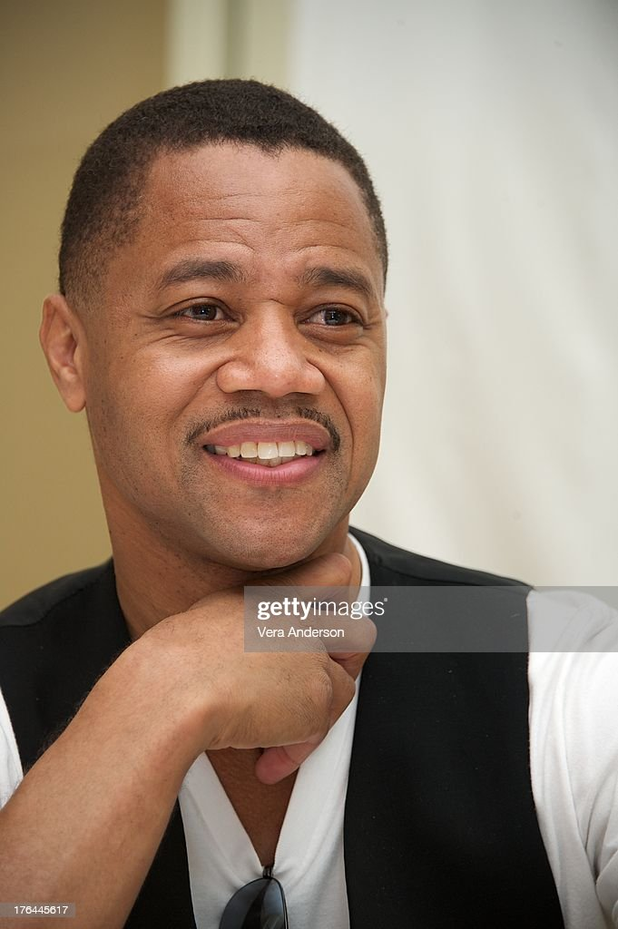 Cuba Gooding Jr. at the 'Lee Daniels' The Butler' Press Conference at the Four Seasons Hotel on August 12, 2013 in Beverly Hills, California.
