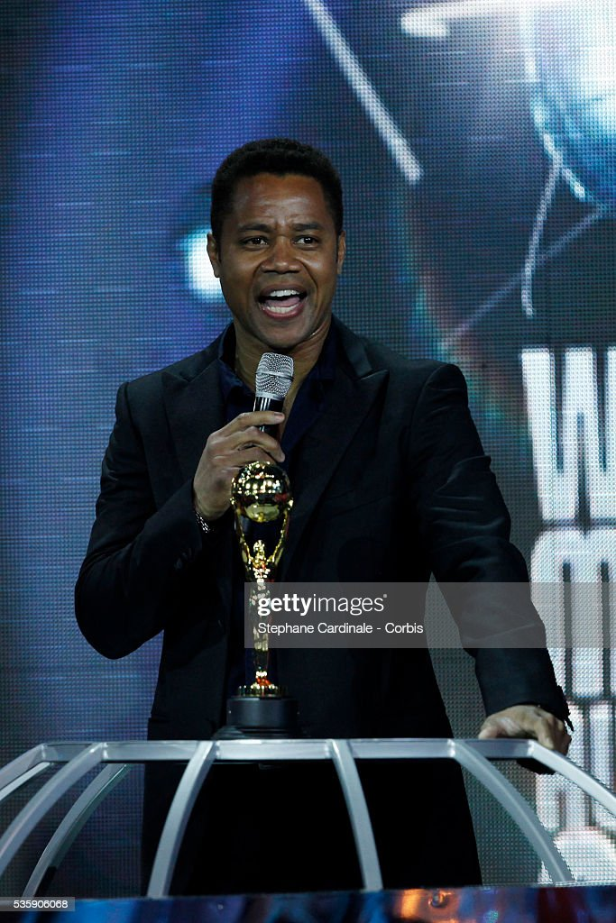 Cuba Gooding Jr at the 'World Music Awards 2010 - show' at the Sporting Club on May 18, 2010 in Monte Carlo, Monaco.