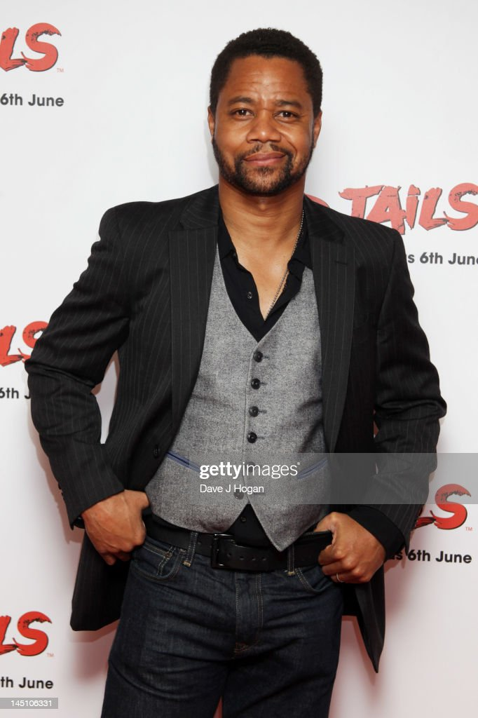 Cuba Gooding Jr attends a gala screening of Red Tails at The Mayfair Hotel on May 23 2012 in London England