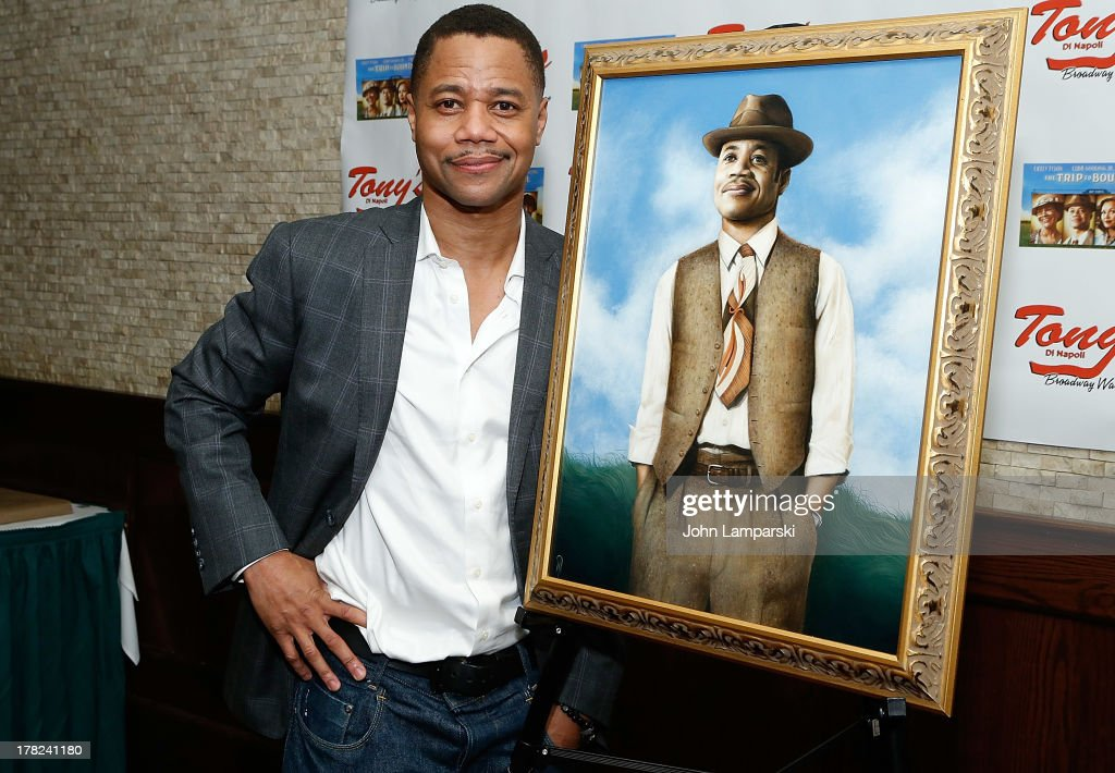 Cuba Gooding Jr attends Cuba Gooding Jr's Portrait Unveiling at Tony's di Napoli on August 27, 2013 in New York City.