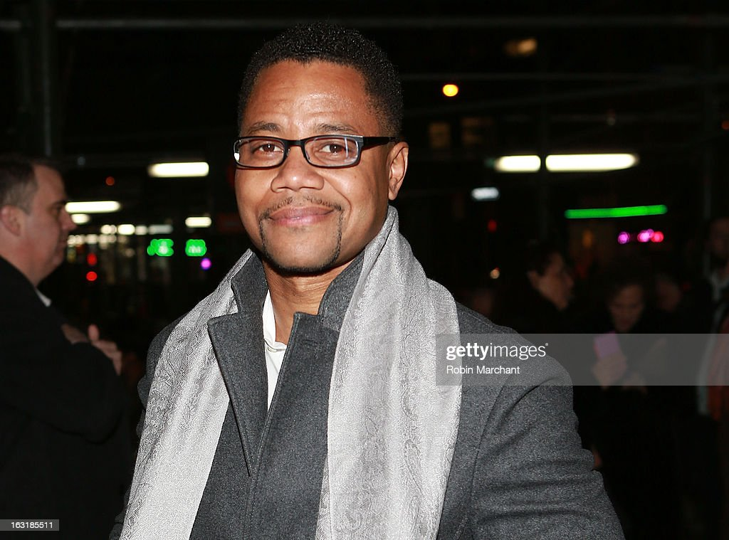 Cuba Gooding Jr. attends 'Talley's Folly' Opening Night at Laura Pels Theatre at the Harold & Miriam Steinberg Center for on March 5, 2013 in New York City.