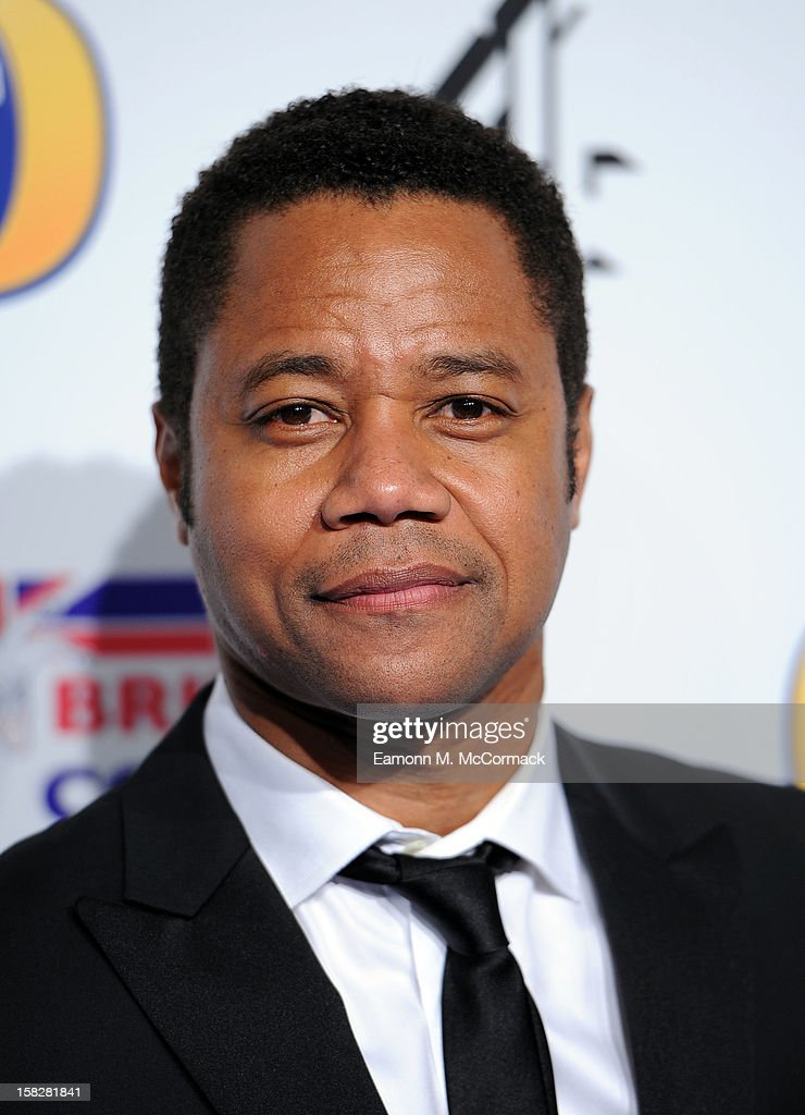 Cuba Gooding Jr attends the British Comedy Awards at Fountain Studios on December 12, 2012 in London, England.