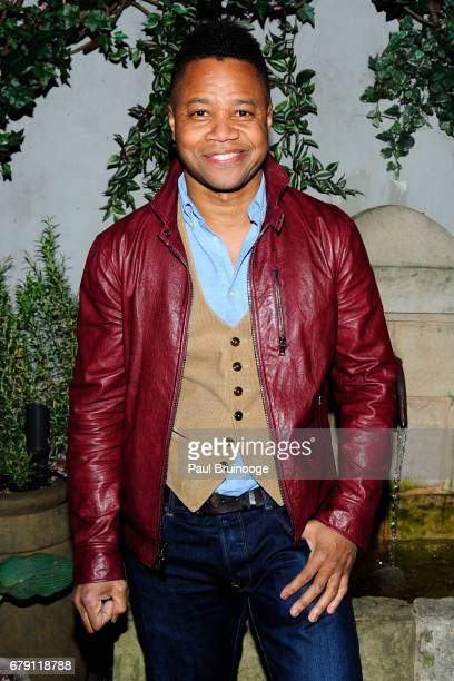 Cuba Gooding Jr attends The Cinema Society BNY Mellon host the after party for Sony Pictures Classics' 'Paris Can Wait' at Laduree Soho on May 4 2017...