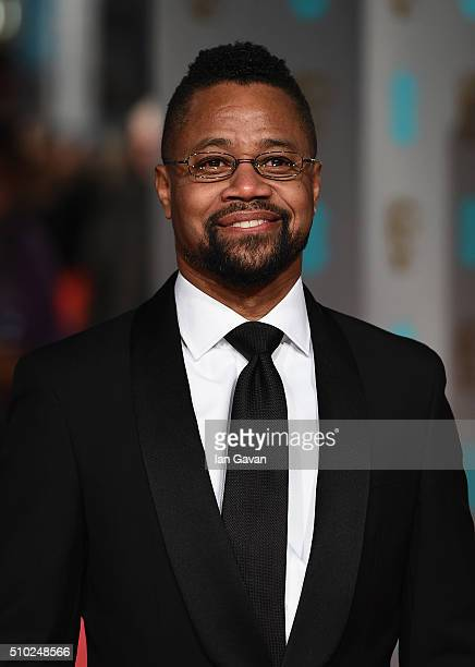 Cuba Gooding Jr attends the EE British Academy Film Awards at the Royal Opera House on February 14 2016 in London England