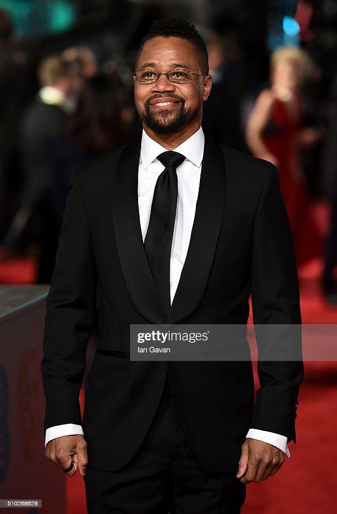 Cuba Gooding Jr attends the EE British Academy Film Awards at the Royal Opera House on February 14, 2016 in London, England.