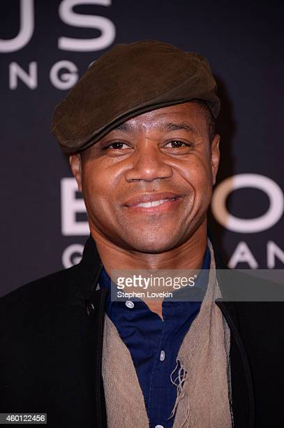 Cuba Gooding Jr attends the 'Exodus Gods And Kings' New York premiere at the Brooklyn Museum on December 7 2014 in New York City