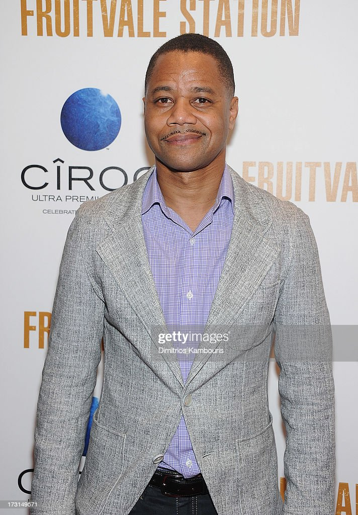 Cuba Gooding Jr attends the 'Fruitvale Station' screening at the Museum of Modern Art on July 8 2013 in New York City