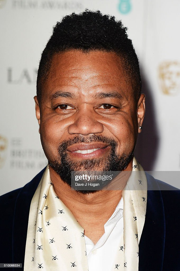 Cuba Gooding Jr attends the Lancome BAFTA nominees party at Kensington Palace on February 13, 2016 in London, England.