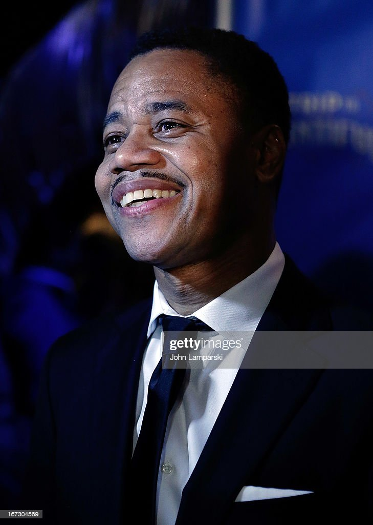 <a gi-track='captionPersonalityLinkClicked' href=/galleries/search?phrase=Cuba+Gooding+Jr.&family=editorial&specificpeople=208232 ng-click='$event.stopPropagation()'>Cuba Gooding Jr.</a> attends the 'The Trip To Bountiful' Broadway Opening Night after party at Copacabana on April 23, 2013 in New York City.