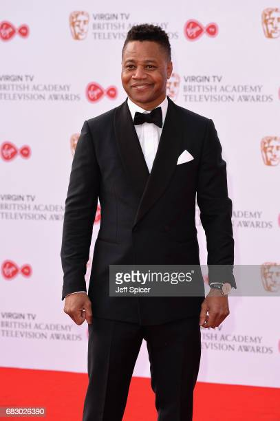 Cuba Gooding Jr attends the Virgin TV BAFTA Television Awards at The Royal Festival Hall on May 14 2017 in London England