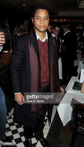 Cuba Gooding Jr attends The Weinstein Company Dinner Hosted By Grey Goose in celebration of BAFTA at Dean Street Townhouse on February 10 2012 in...