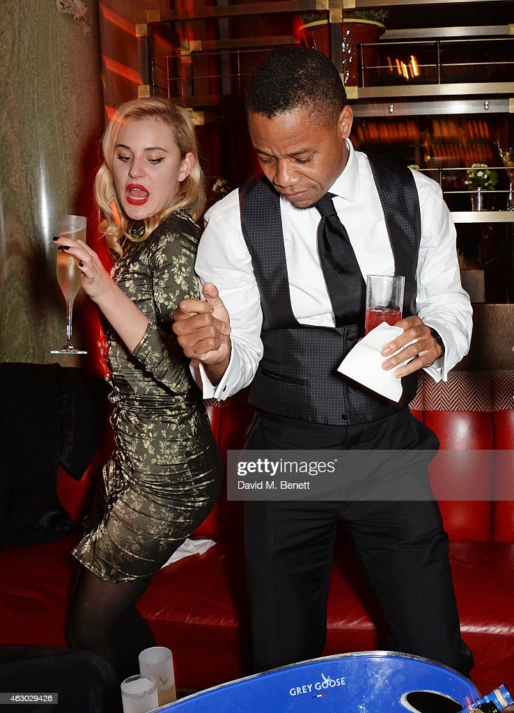 Cuba Gooding Jr attends The Weinstein Company Entertainment Film Distributor StudioCanal 2015 BAFTA After Party in partnership with Jimmy Choo GREY...