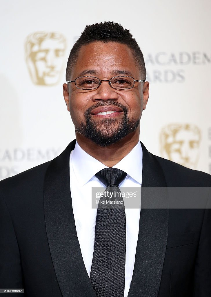 Cuba Gooding, Jr. poses in the winners room at the EE British Academy Film Awards at The Royal Opera House on February 14, 2016 in London, England.