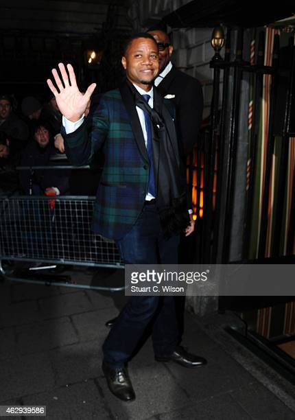Cuba Gooding Junior attends the Charles Finch CHANEL PreBAFTA party at Annabel's on February 7 2015 in London England