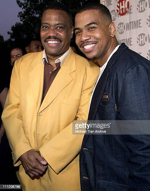Cuba Gooding Sr and Omar Gooding during Showtime Presents 'Weeds' and 'Barbershop' Los Angeles Premiere at Paramount Theater At Paramount Studios in...