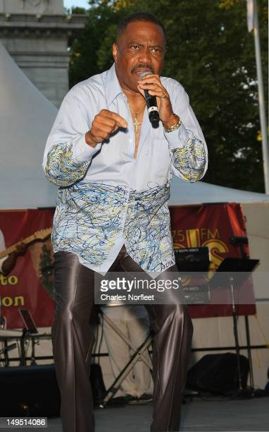 Cuba Gooding Sr performs at Harlem Week's 38th Anniversary Celebration at Ulysses S Grant National Memorial Park on July 29 2012 in New York City