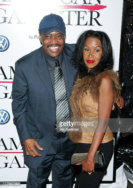 Cuba Gooding Srand guest arrive at 'American Gangster' premiere at the Apollo Theater on October 19 2007 in New York City New York