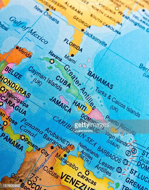 Cuba, Haití y del Caribbeans