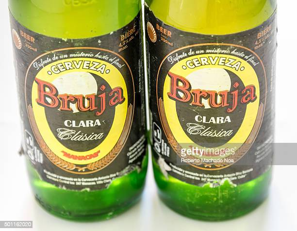 Cuba made products Bruja beer produced in Manacas Villa Clara Cuba It is one of the cheapest beers brewed at 45% alcohol Cuba is famous for its...